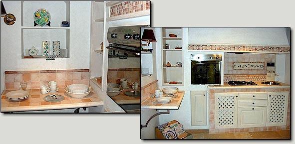 Decori cucina pavimenti in cotto con decori cucina in - Decori per piastrelle cucina ...